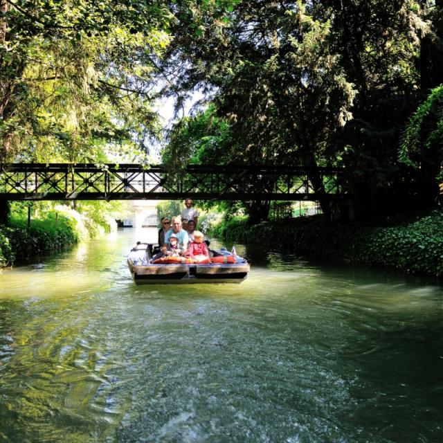 Balade En Barque Eaudyssee Pont Des Amoureux © David Billy