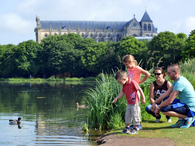 Balade En Famille Chalons Canards Canal Lateral © Christophe Manquillet