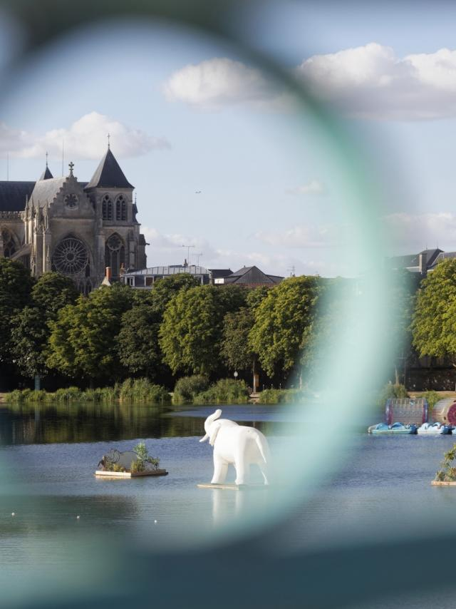 Cathedrale Passerelle Grand Jard Vue Chalons Plage © Pascal Perin