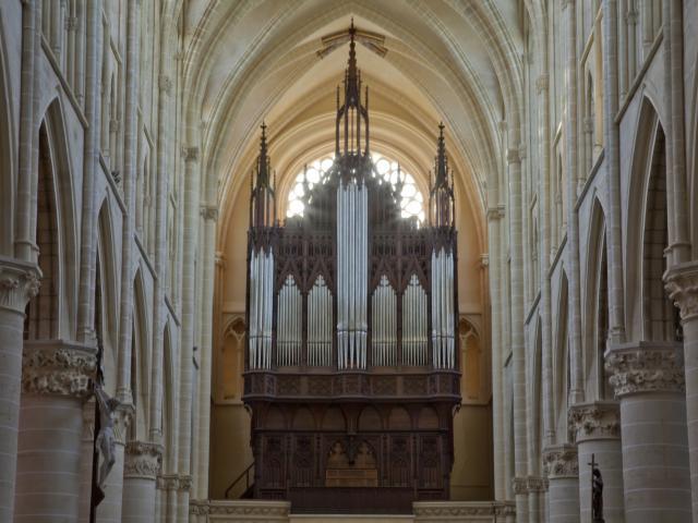 Cathedrale Saint Etienne Chalons Orgue