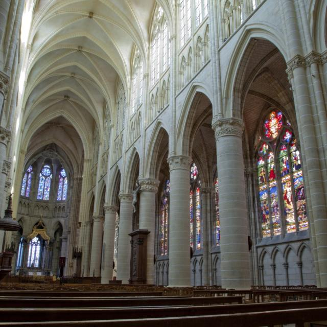 Cathedrale Saint Etienne Interieur Chalons © Jean Côme Nicolle
