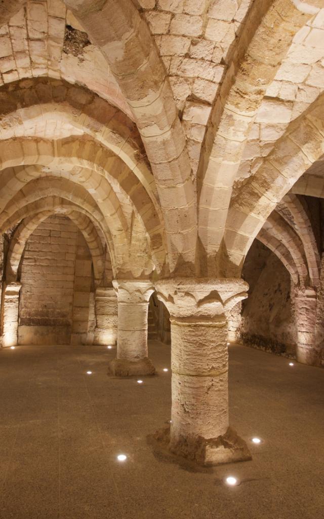 Caves Medievales Historiques Chalons © Office De Tourisme