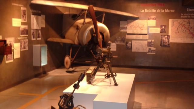 Centre Interpretation Marne 14 18 Musee Suippes Avion © Marne 14 18