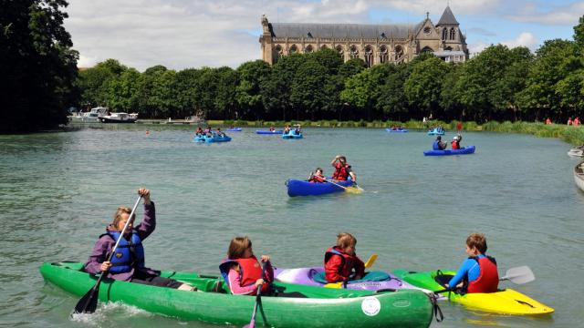 Chalons Plage Grand Jard Canoes © Christophe Manquillet