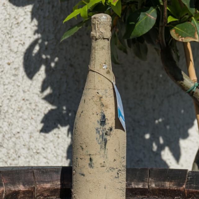 Champagne Jean Seleque Bouteille Fond De Mer © Marat Anaev