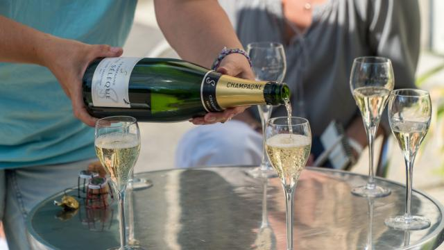 Champagne Jean Seleque Degustation 2 © Marat Anaev