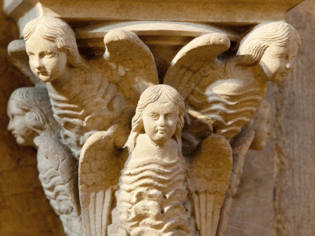 Collegiale Notre Dame En Vaux Chalons Details Anges © Jean Côme Nicolle