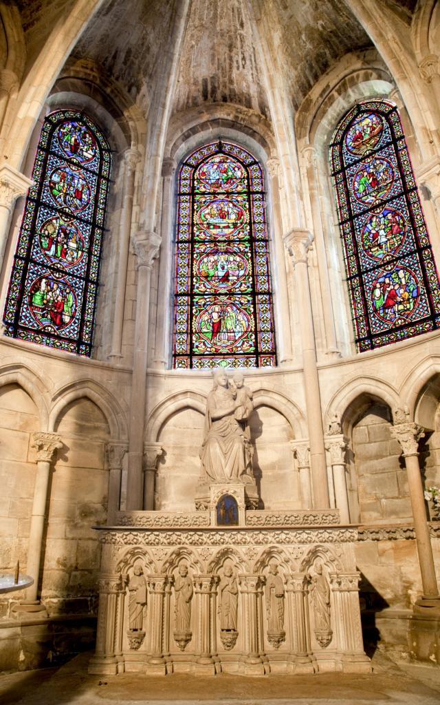 Collegiale Notre Dame En Vaux Chalons Details © Jean Côme Nicolle