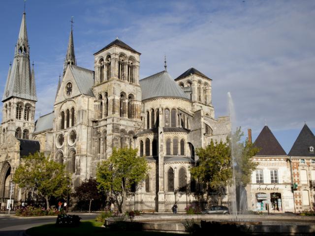 Collegiale Notre Dame En Vaux Chalons © Jean Côme Nicolle
