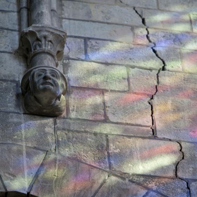 Collegiale Notre Dame En Vaux Chalons Lumieres Couleurs © Jean Côme Nicolle