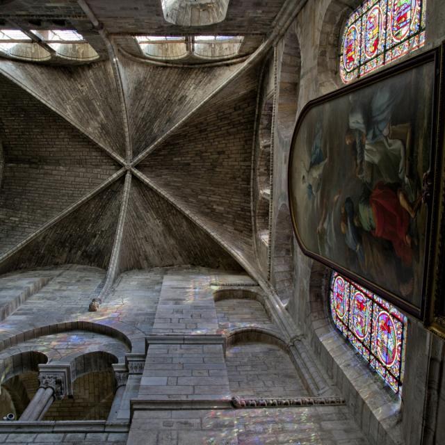 Collegiale Notre Dame En Vaux Chalons Vitraux Couleurs © Jean Côme Nicolle