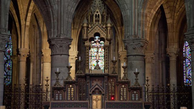 Collegiale Notre Dame En Vaux Unesco Interieur © Jean Côme Nicolle