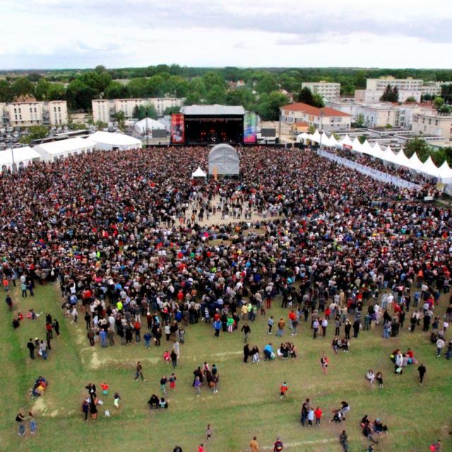 Concert Foire En Scene Foire De Chalons Foule
