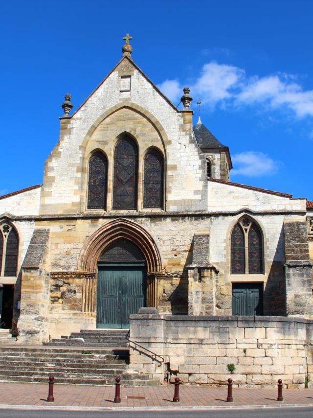 Devanture Eglise Saint Jean Chalons © Mathilde Boivin