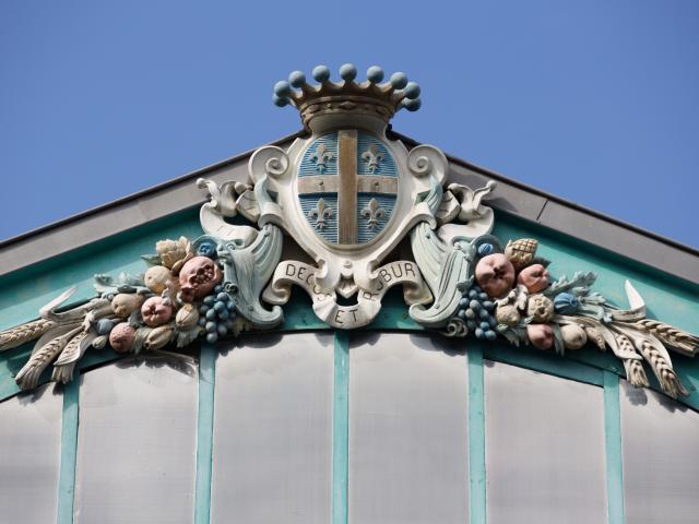 Halles Du Marche Chalons Detail Decoration © Office De Tourisme