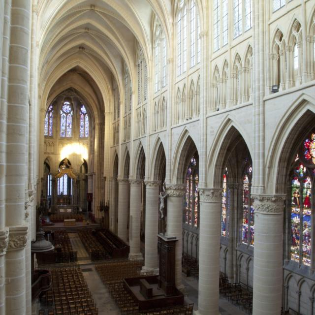 Interieur Cathedrale St Etienne Chalons © Jean Côme Nicolle