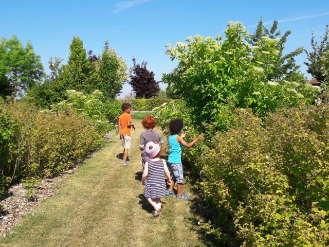 Jardin Sensoriel Haussimont Enfants Decouverte © Haussimont
