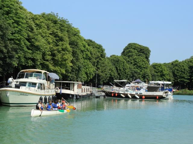 Mini Croisiere Canoe Canal Lateral Marne Relais Nautique