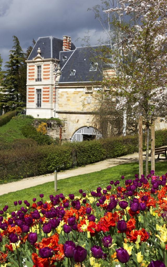 Petit Jard Fleurs Couleurs Chateau Du Marche © Pascal Perin