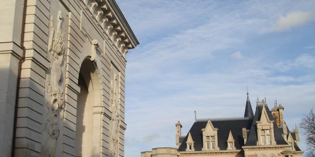 Porte Sainte Croix Castel Marie Antoinette Chalons © David Billy