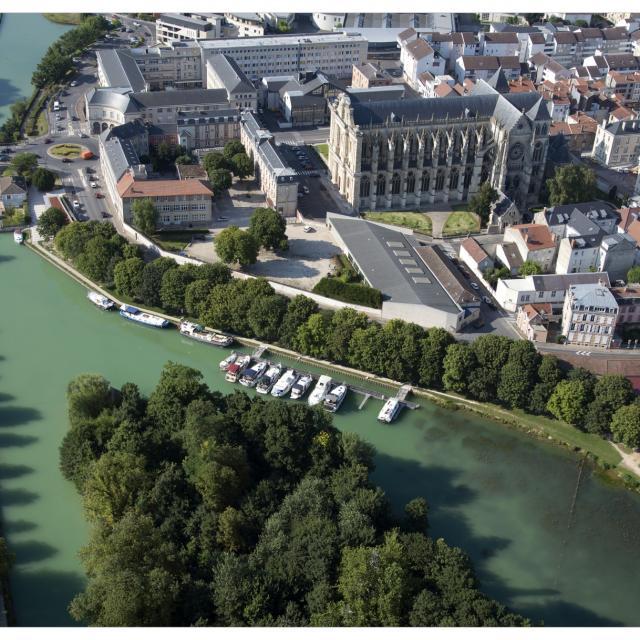 Relais Nautique Chalons Vue Aerienne © Office De Tourisme