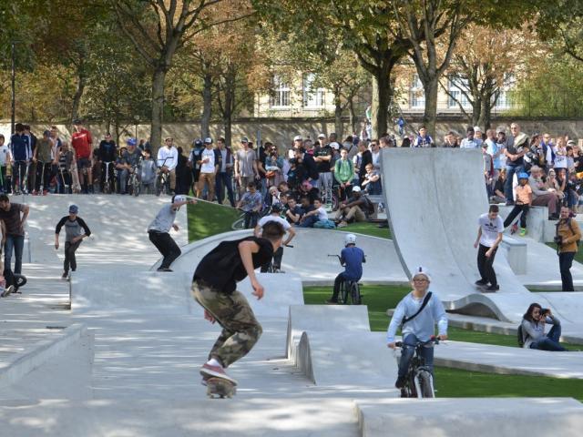 Skate Park Grand Jard 1 @ Christophe Manquillet