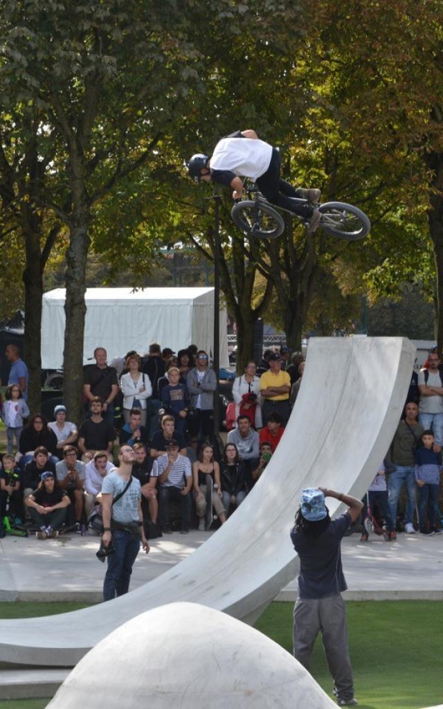 Skate Park Grand Jard Bmx @ Christophe Manquillet