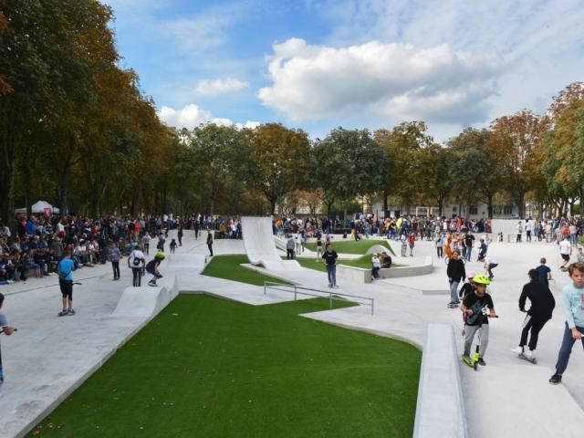 Skate Park Grand Jard Jeunes Ados Enfants @ Christophe Manquillet