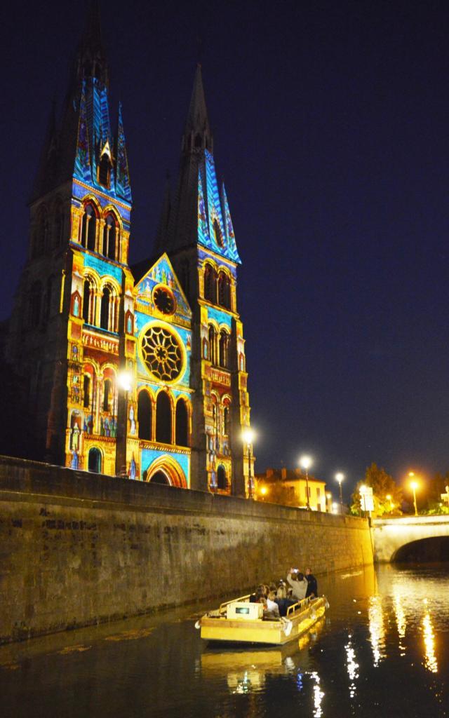 Spectacle Son Et Lumieres Metamorpheauses Chalons Notre Dame Unesco © Christophe Manquillet