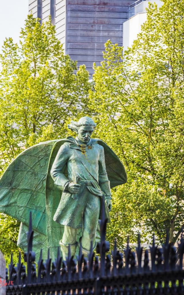 Statue Jean Talon Nature Chalons © Michel Bister