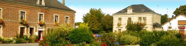 Baconnes Ville Fleurie Panoramique