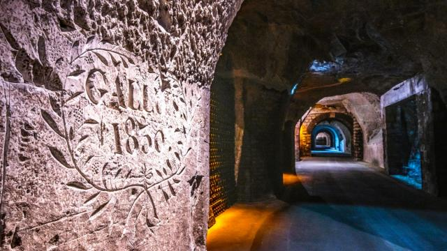 Champagne Joseph Perrier Caves Chalons En Champagne