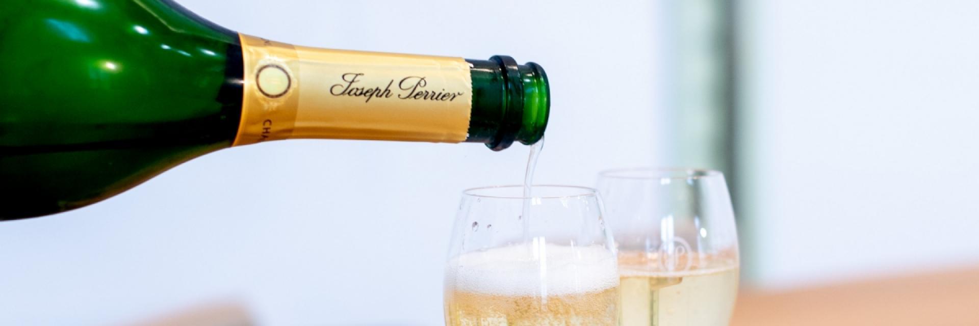 Champagne Joseph Perrier Degustation Visite