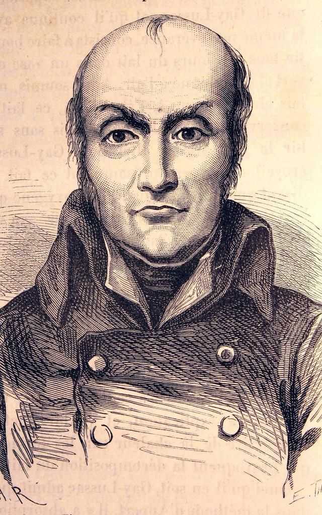 Nicolas Appert Portrait