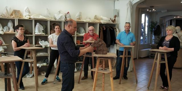 Atelier Sculpture Juan Carlos Carrillo Chalons
