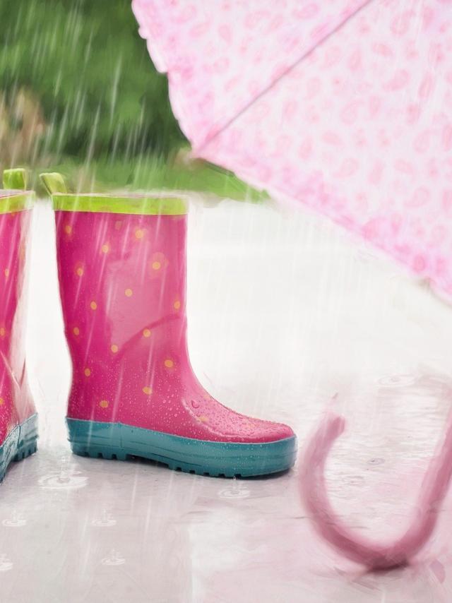 Chic Il Pleut Parapluie