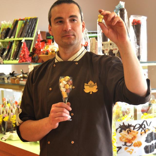 Chocolaterie Thibaut Boutique Xavier