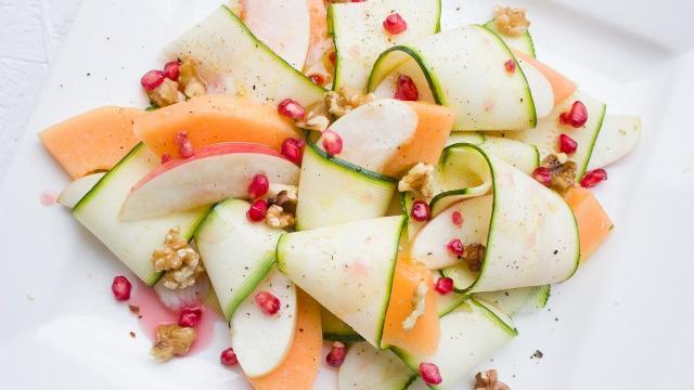 Courgettes Melon Pommes Saison Aout