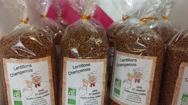Lentillon De Champagne Didier Lambin Coupeville
