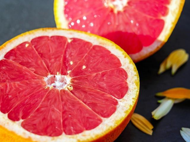 Pamplemousse Fruits Saisons Mai