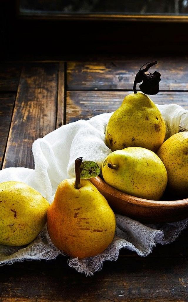 Poires Fruits Saison Fevrier