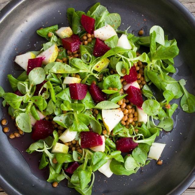Salade Lentillons Champenois