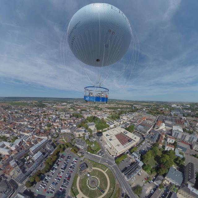 Ballon Captif Epernay Panoramique