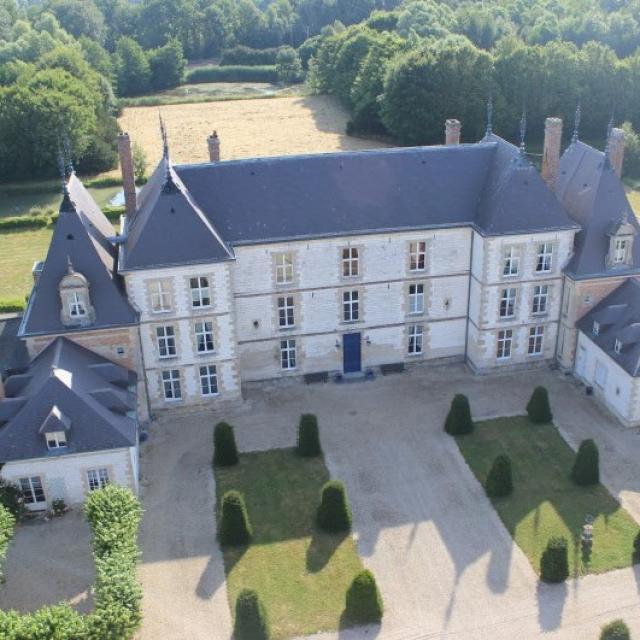 Chateau De Vitry La Ville Aerien 2