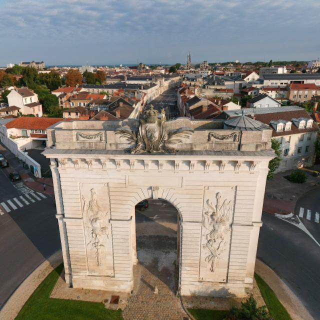 La Porte Sainte Croix Aerienne