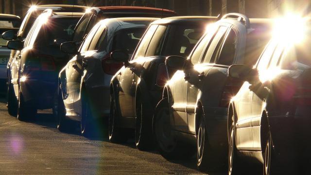Parking Voitures Garees