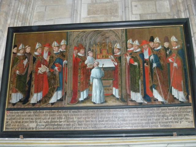 Tableau De La Consecration Cathedrale Saint Etienne