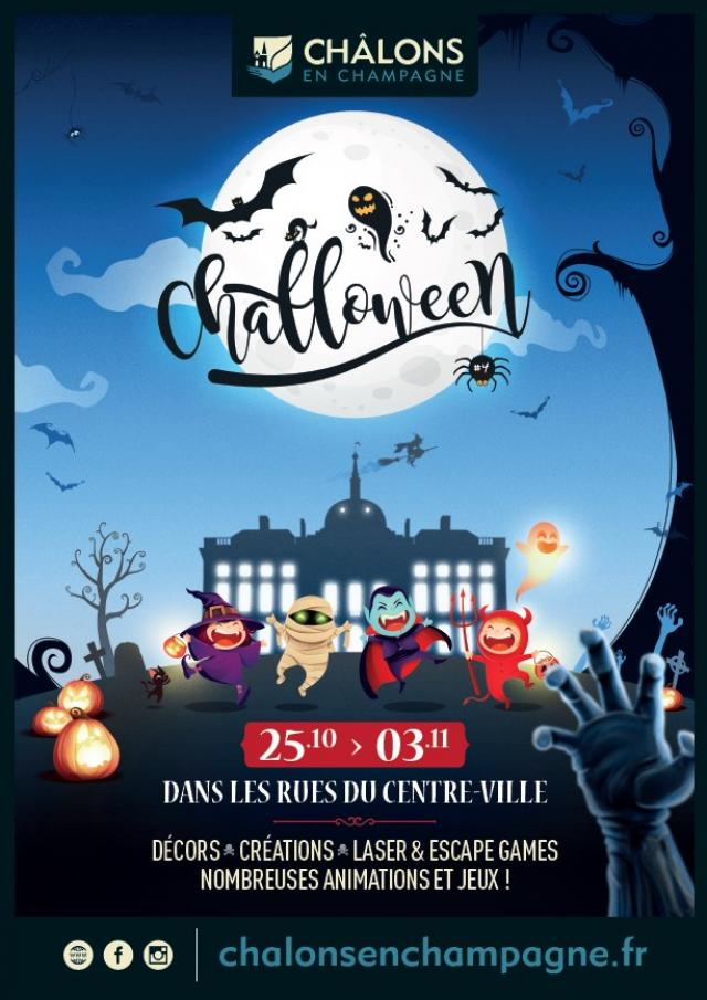 Challoween Chalons En Champagne Affiche 2021