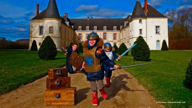 Chasse Au Tresor Ayr Chateau De Conde Dr Vw