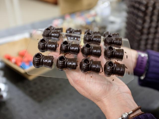 Bouchons en chocolat © ART Grand Est - Alexandre Couvreux